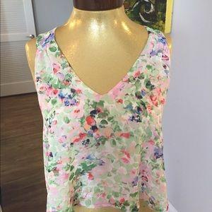 Astr floral blouse